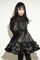 Gothic lolita 011 (Mr.NM.Zero) Tags: boy black cute dark scary cd gothic goth lolita egl crossdress crossplay mrnightmare