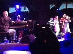 Performing with Bruce Hornsby