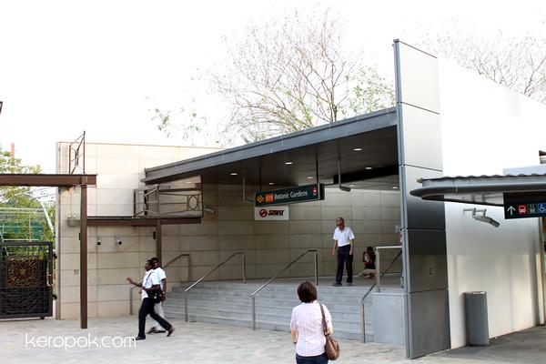 Circle Line MRT Open Day, Botanic Gardens MRT