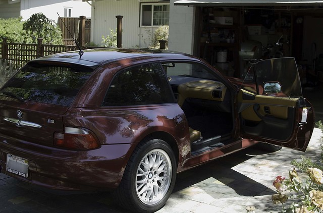 2002 BMW Z3 Coupe | Sienna Red | Walnut Extended Leather | Chrome Line Interior Trim