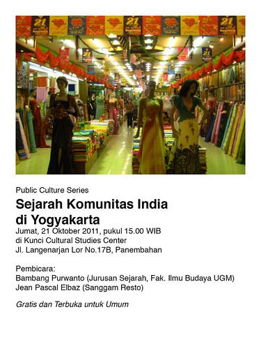 Diskusi Sejarah Komunitas India di Yogyakarta