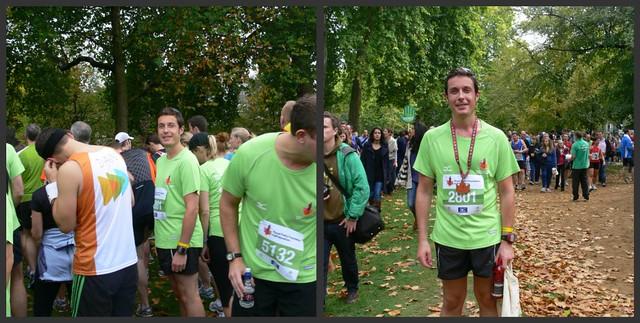 Scott's half marathon race