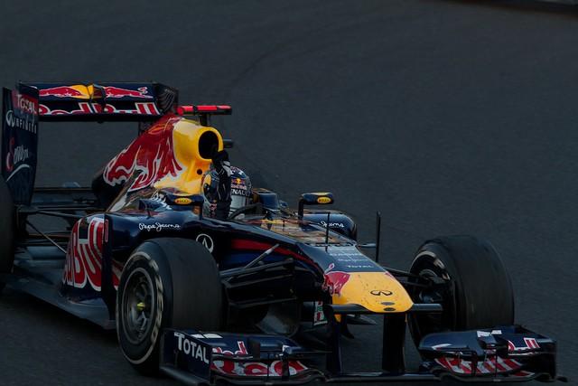 Vettel Winning run