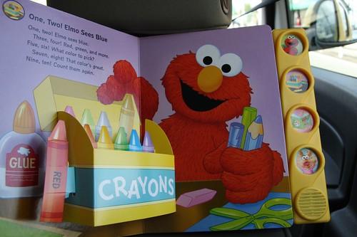 しかけ絵本 / Amusing Elmo !