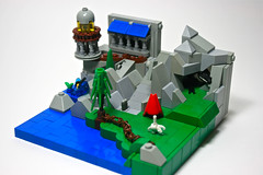 WarScape: Vol 1; Chapter 6 of 9 (Siercon and Coral) Tags: horse castle lego mini fantasy micro mermaid mcc moc warscape