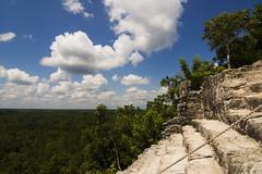 Cobá (Anne-Katrin Kaschadt) Tags: mexico ruins maya yucatan ruinas pyramide mexiko ruinen cobá