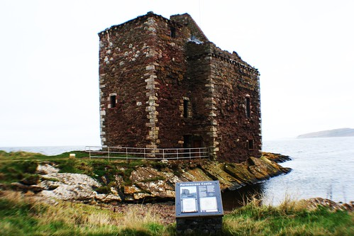Portencross Castle, Firth of Clyde