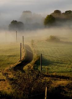 chemin barré