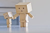 { 15.10.2011 | Welcome home } (мауmεi. ʚɞ) Tags: cute toy box adorable 100mm cardboard 7d figure danboard canon7d minidanboard