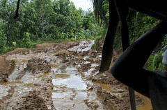 Route National 5 (Arne Kuilman) Tags: road travel wet water view mud 4x4 madagascar modder rn5 dryseason taxibrousse nicepart routenational routenational5