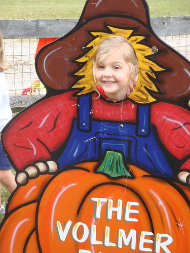 Anna's fieldtrip to pumpkin patch