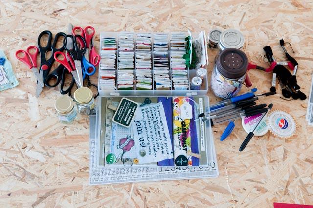 craftivism workshop at The Royal Standard arts collective