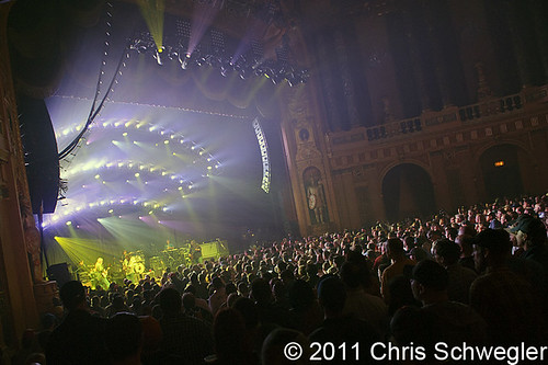 Widespread Panic Lights Up The Detroit Sky