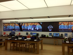 Microsoft Store: Halloween (sketchy pictures) Tags: fall halloween vampire cartoon xbox microsoft owl animation ghosts videowall