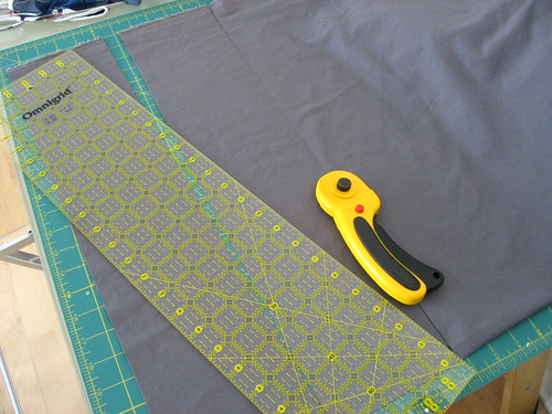 Cutting charm squares