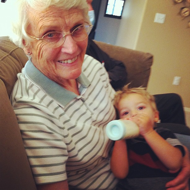 Great Grandma Cook and Cole