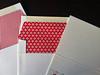 Flocking Stockings Letterpress Holiday Card