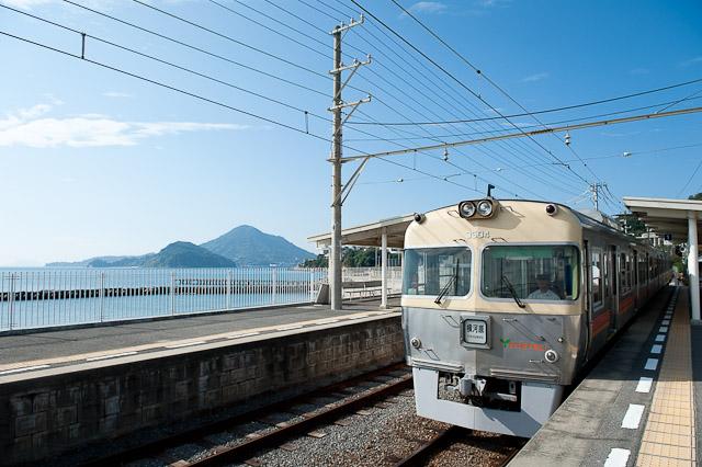 伊予鉄道 梅津寺駅