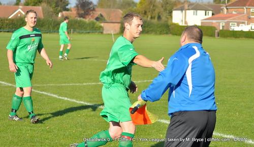 Cliffe FC 1 - 0 Osbaldwick 22Oct11
