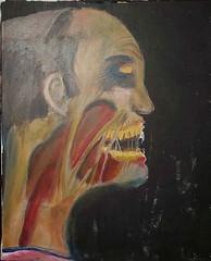 zombie painting (Rev Jesse) Tags: man flesh dark painting zombie fantasy gore horror