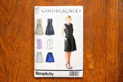 Simplicity 2215 by Cynthia Rowley