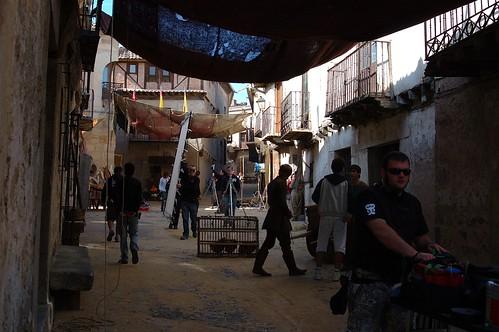 Imágenes del rodaje de Toledo
