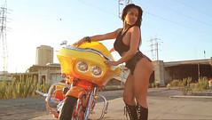 Rosa AcostaGround Pounders Magazine Photo Shoot Video