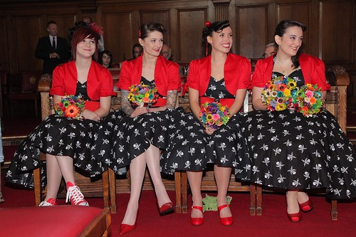 Rockabilly Bridesmaids