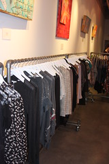 Clothing Racks in Las Vegas Boutique