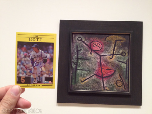 1991 Jim Gott and 1940 Paul Klee