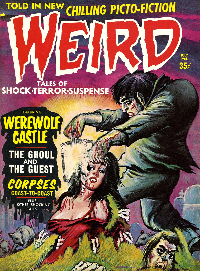 Weird Vol. 02 #8 (Eerie Publications, 1968)