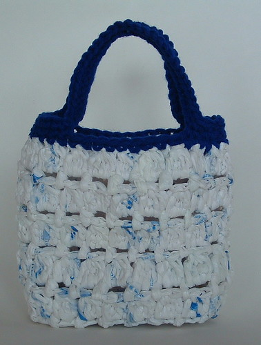 Cluster Stitch Recycled Bag