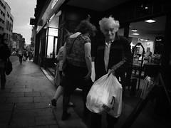 street blackandwhite mono leeds straydog carrierbag