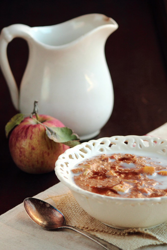 Apple Cinnamon Steel Cut Oatmeal