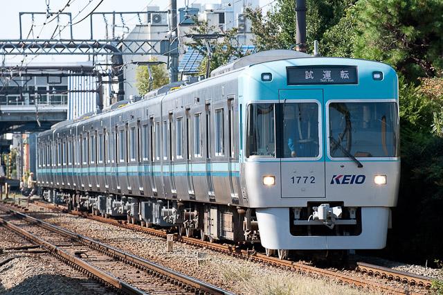 京王電鉄井の頭線1000系1022F 出場試運転