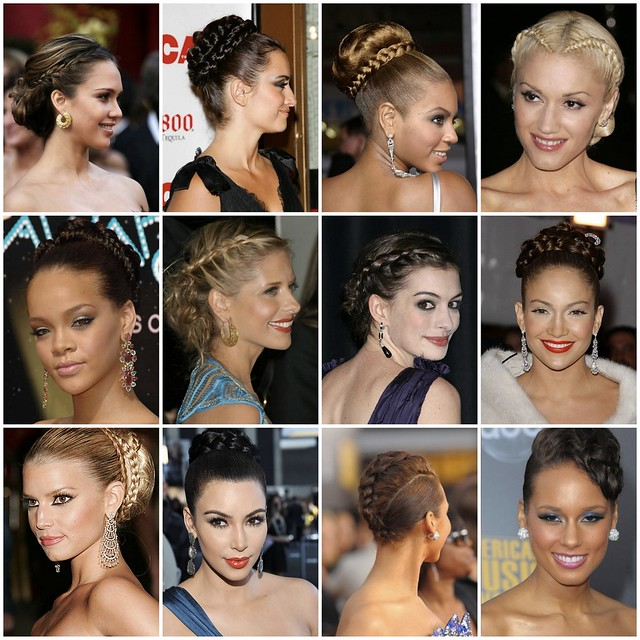 Red Carpet to Aisle Style - Braids