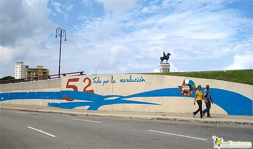 Revolutionary Art - Cuban Streets - Havana Cuba