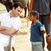 Rahul Gandhi during a 'chaupal' in Jaunpur, U.P (31)
