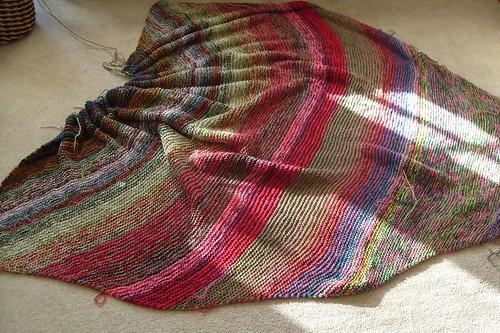 Never Ending Blanket by gradschoolknitter