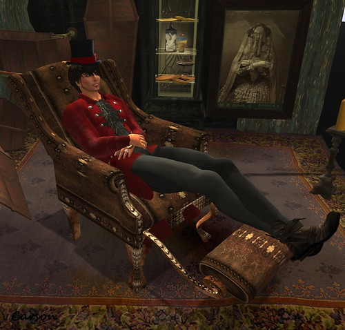 Cedar Bay Furnishings - Steampunk Physician's Chair