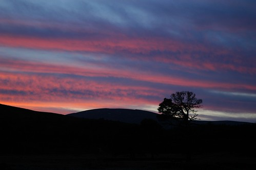 Glen Luibeg Sunset