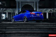 Lexus IS-F - VVSCV3 (VossenWheels) Tags: wheels deep graphite isf matte concave lexus machined vossen vvscv3