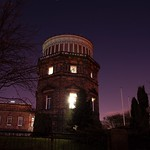 Edinburgh Observatory at night