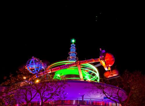 Neon Swirl by DisHippy