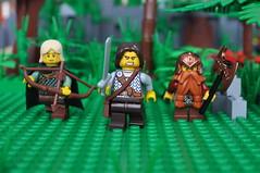 Legolas, Aragorn & Gimli (Mr.Macgyver) Tags: lego lordoftherings