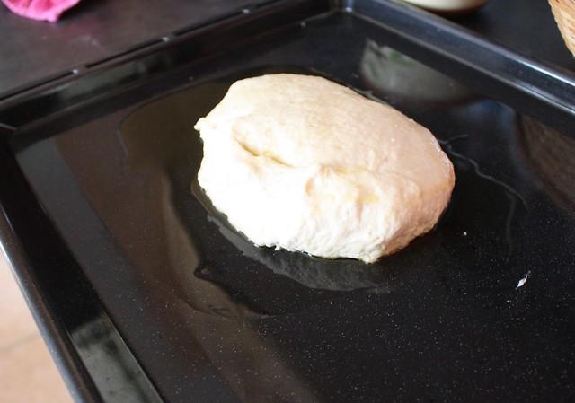 Pâte Focaccia avant levée 1