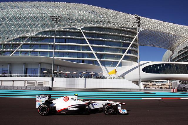 Prácticas libres del GP de Abu Dhabi