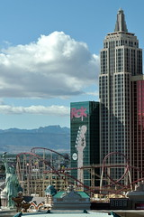 New York, New York in Las Vegas