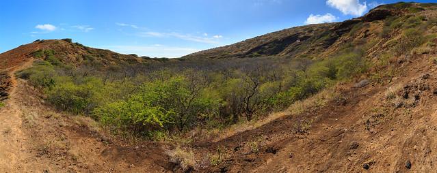 'Ihi'ihilauakea Crater