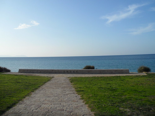 Itt ért partot az ANZAC